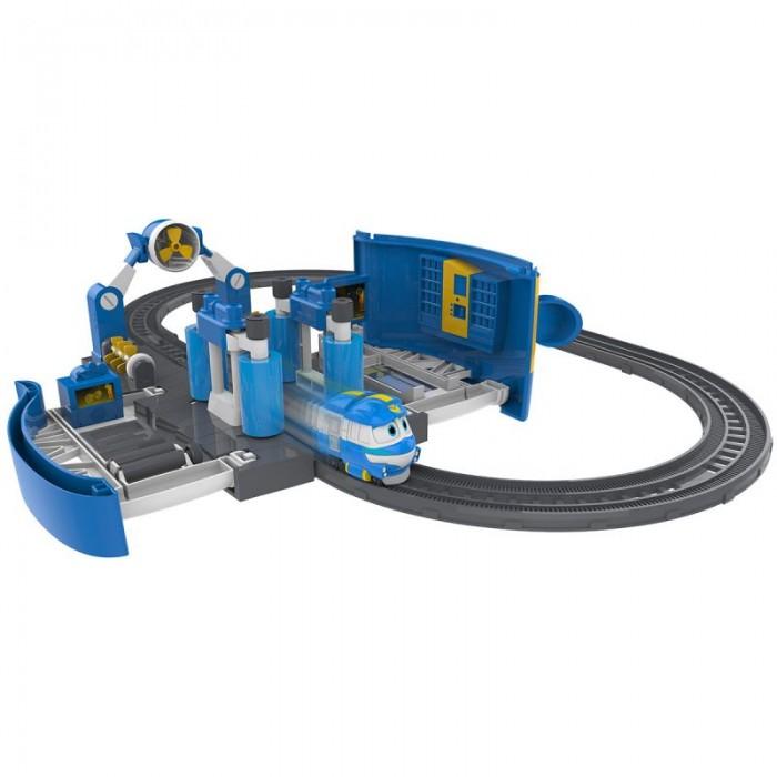 Железные дороги Robot Trains Набор Мойка Кея power trains набор с краном 48627