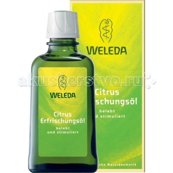 Косметика для мамы Weleda Освежающее масло цитрусовое 100 мл масло weleda цитрусовое освежающее масло для тела weleda