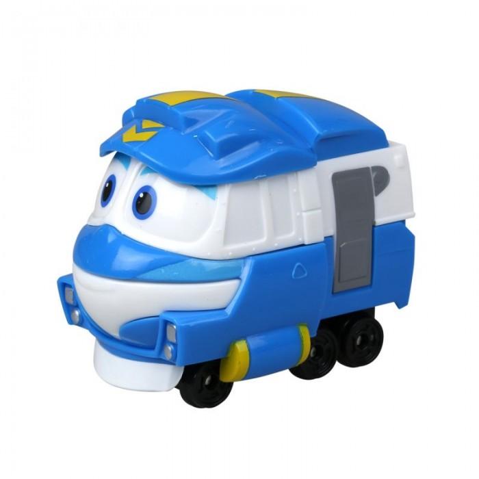 Железные дороги Robot Trains Паровозик Кей power trains набор с краном 48627