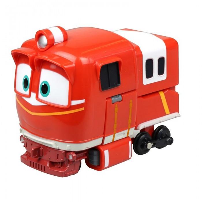 Железные дороги Robot Trains Трансформер Альф 10 см power trains набор с краном 48627