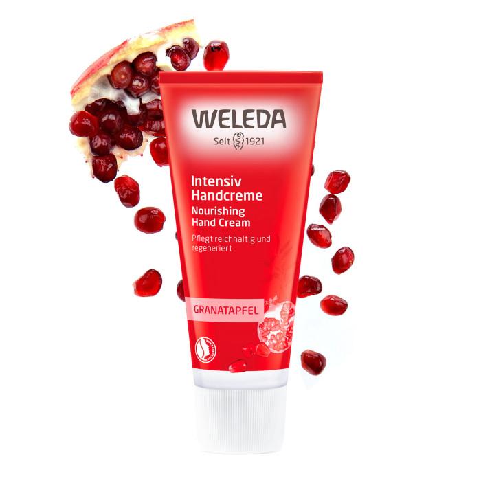 Косметика для мамы Weleda Восстанавливающий крем для рук Гранат 50 мл косметика для мамы weleda масло для волос 50 мл