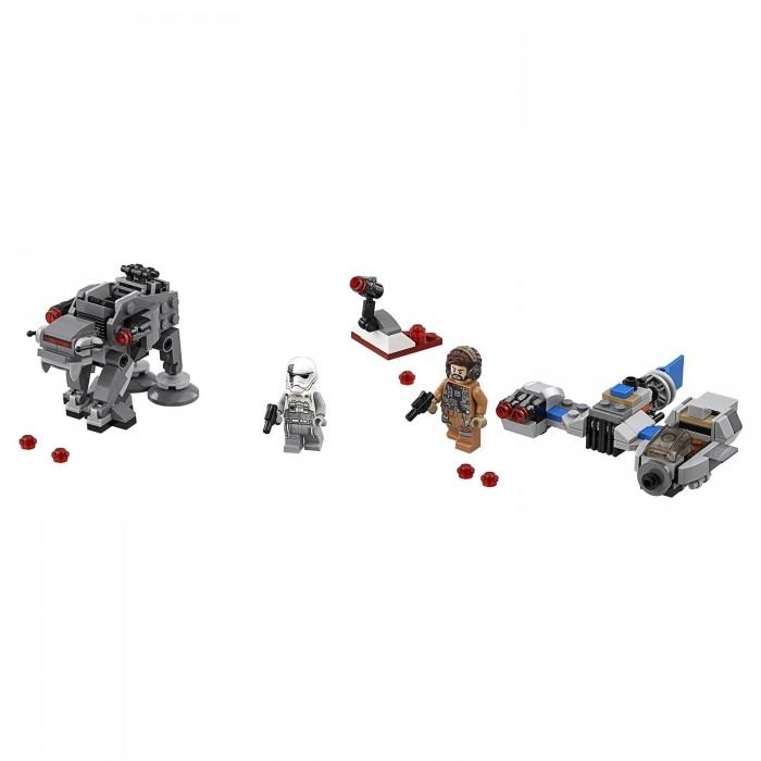 Lego Lego Star Wars Бой пехотинцев Первого Ордена против спидера на лыжах