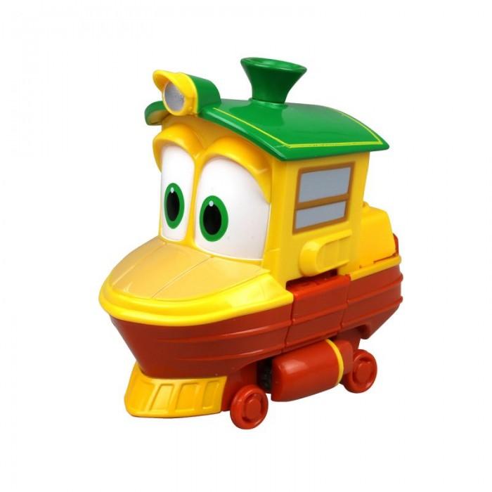 Железные дороги Robot Trains Трансформер Утенок 10 см power trains набор с краном 48627