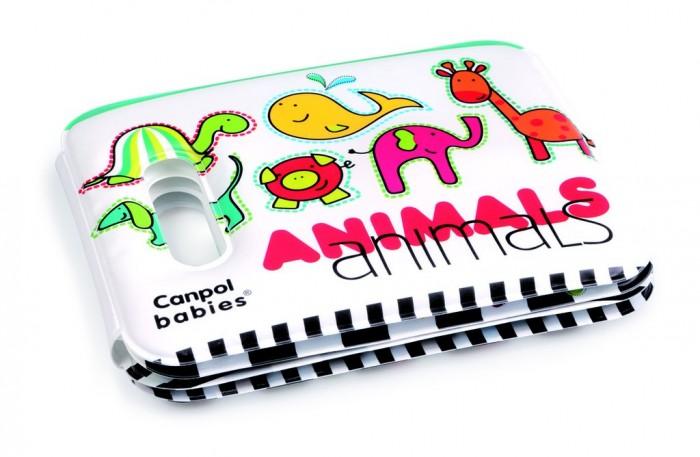 Книжки-игрушки Canpol Книжка мягкая с пищалкой Colourful animals 74/009