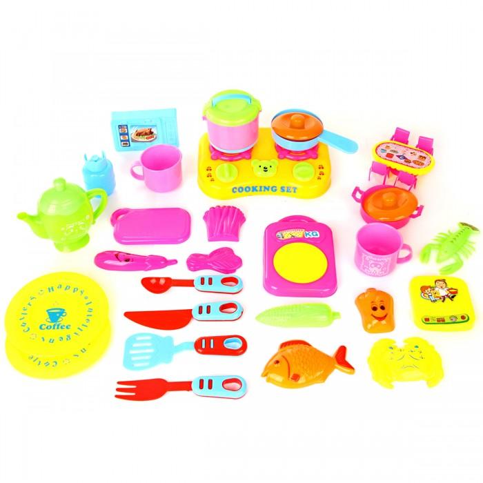 Кукольные домики и мебель Veld CO Посуда для кукол ролевые игры veld co набор бытовой техники 47277