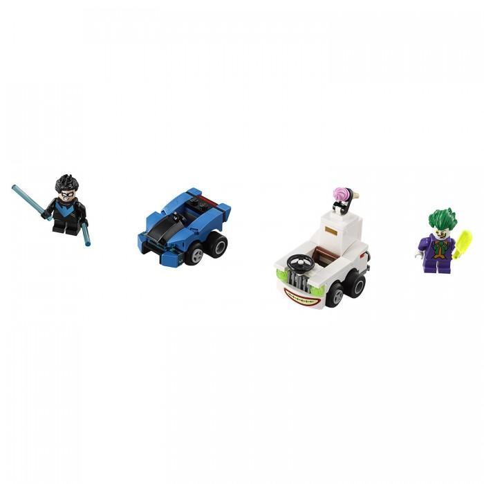 Lego Lego Super Heroes Mighty Micros: Найтвинг против Джокера single sale mighty micros robin bane ultron batman super heroes justice league minifig model building blocks kids toys
