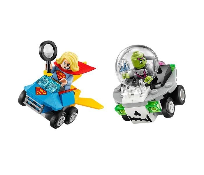 Lego Lego Super Heroes Mighty Micros: Супергёрл против Брейниака lego 60139 город мобильный командный центр