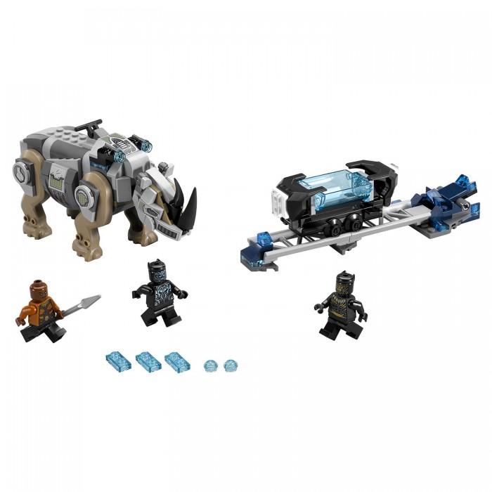 Lego Lego Super Heroes Поединок с Носорогом