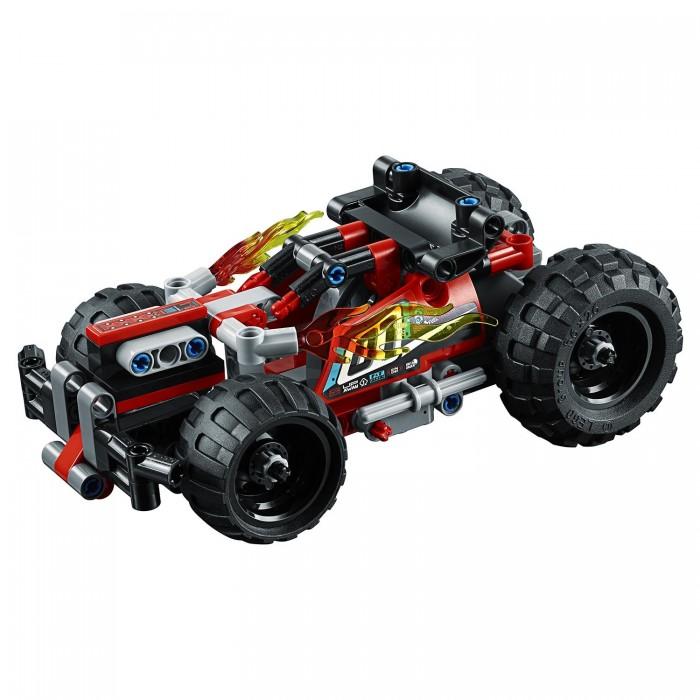 Lego Lego Technic Красный гоночный автомобиль йошихито исогава большая книга идей lego technic машины и механизмы