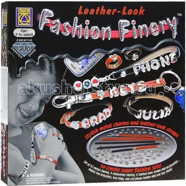 Наборы для творчества Creative Набор для творчества Украшения из кожи creative набор для творчества браслеты арт деко