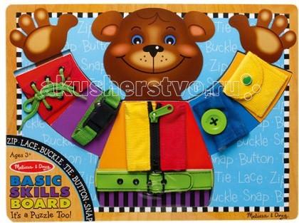 Деревянные игрушки Melissa & Doug Доска Развиваем основные навыки