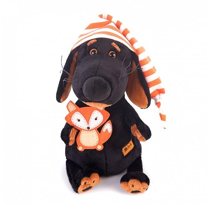 Мягкая игрушка Budi Basa Ваксон в колпачке и с лисичкой 25 см