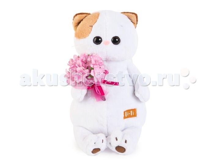 Мягкие игрушки Budi Basa Ли-Ли с букетом 24 см мягкая игрушка budi basa ли ли балерина с лебедем 24 см lk24 006