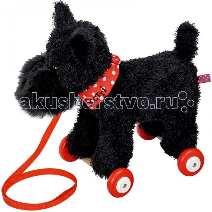 Каталки-игрушки Spiegelburg Собачка терьер Scotti денди динмонт терьер щенок купить