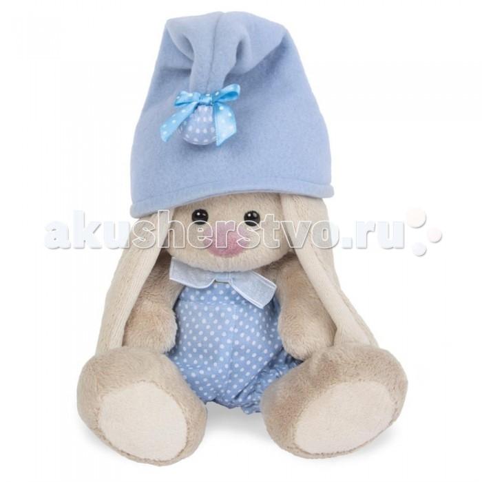 Мягкие игрушки Budi Basa Зайка Ми-гномик в голубом малыш 15 см alilo музыкальная игрушка большой зайка в голубом
