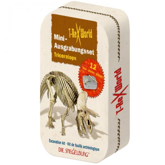 Наборы для творчества Spiegelburg Набор мини-раскопки трицератопс T-Rex