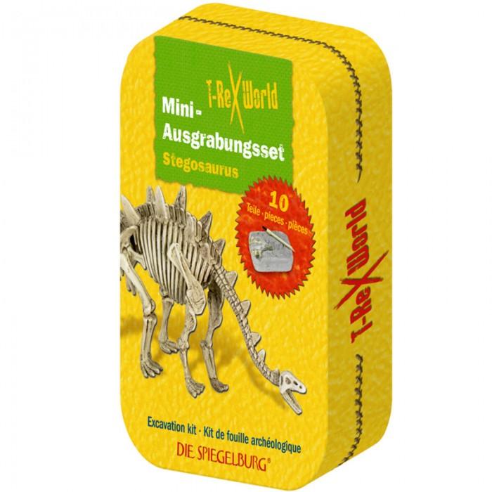 Наборы для творчества Spiegelburg Набор мини-раскопки стегозавр T-Rex