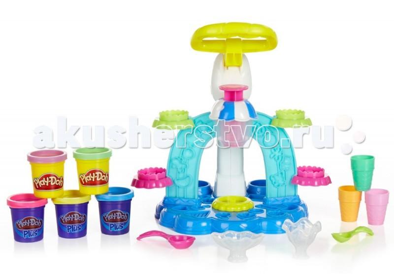 Всё для лепки Play-Doh Hasbro Игровой набор Фабрика Мороженого B0306H hasbro play doh игровой набор замок мороженого с 3 лет
