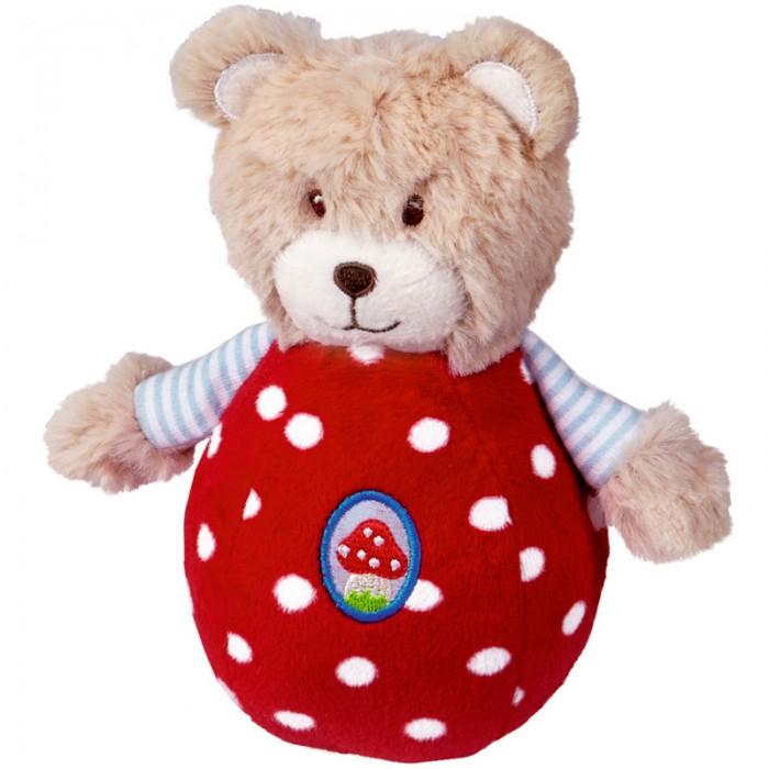 Развивающие игрушки Spiegelburg Медвежонок неваляшка Baby Gluck мягкие игрушки spiegelburg гриб неваляшка baby gluck