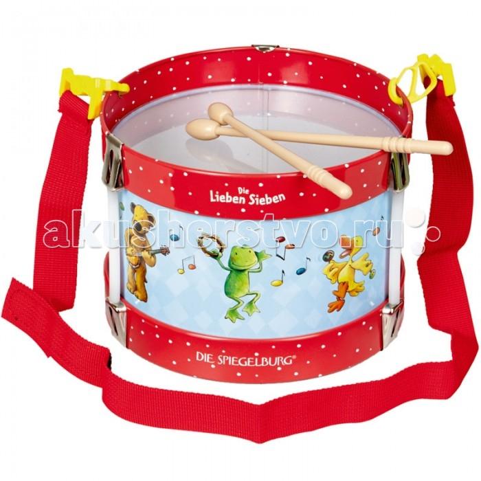 Музыкальные игрушки Spiegelburg Барабан Die Lieben Sieben барабан для gamo pt80