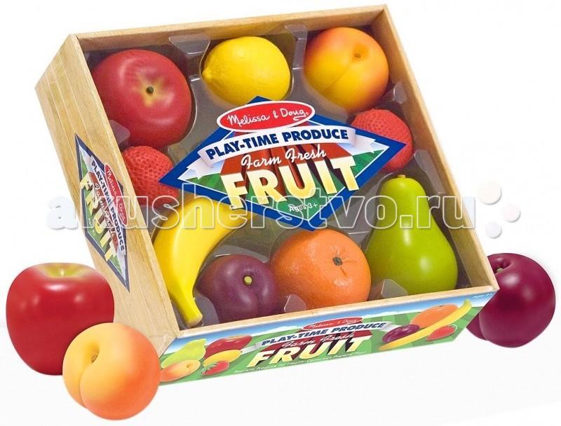 Деревянная игрушка Melissa & Doug Готовь и играй Набор фруктов