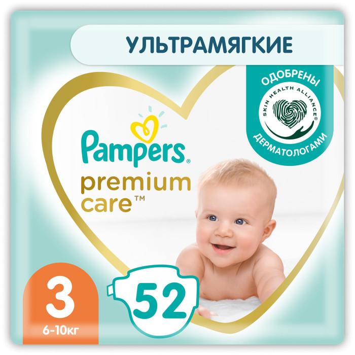Подгузники Pampers Подгузники Premium Care Эконом р.3 (5-9 кг) 60 шт.