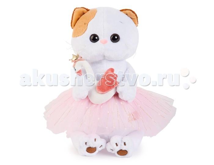 Мягкие игрушки Budi Basa Ли-Ли балерина с лебедем 24 см мягкая игрушка budi basa ли ли балерина с лебедем 24 см lk24 006