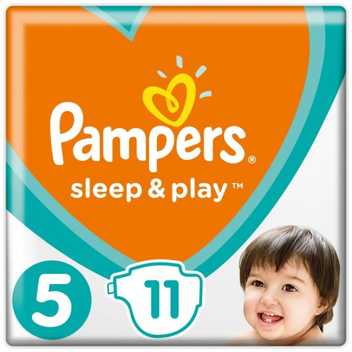 Подгузники Pampers Подгузники Sleep & Play Junior р.5 (11-16 кг) 11 шт. pampers pampers sleep