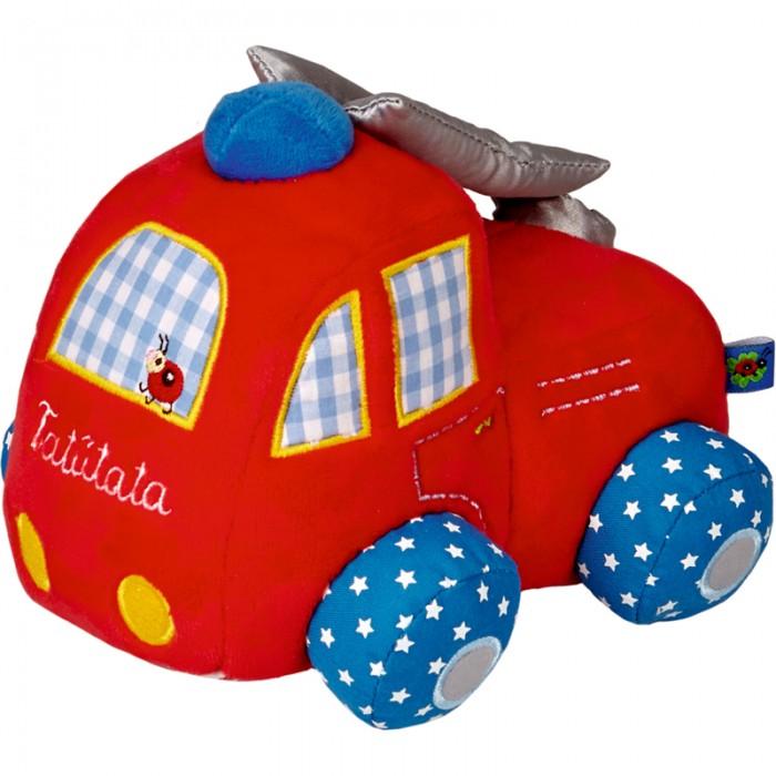 Мягкие игрушки Spiegelburg Пожарная машина Baby Gluck мягкие игрушки spiegelburg мышка baby gluck