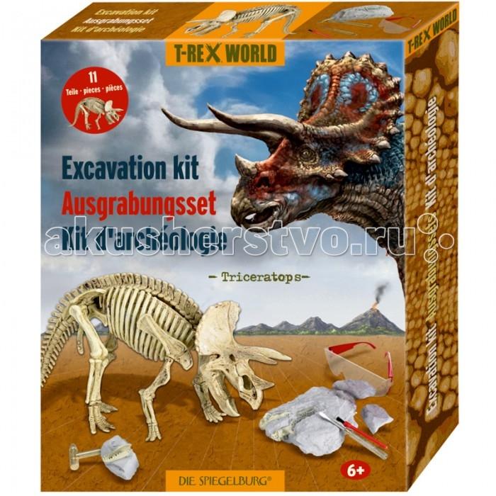 Наборы для творчества Spiegelburg Набор археологический трицератопс T-Rex 14464