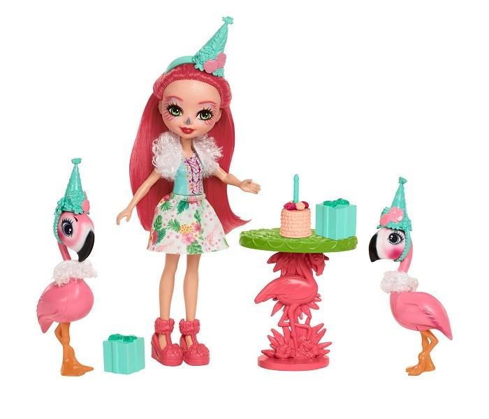 Игровые наборы Enchantimals Игровой набор Праздник Фламинго enchantimals пазл 64 магнитик фелисити лис и флик 03554