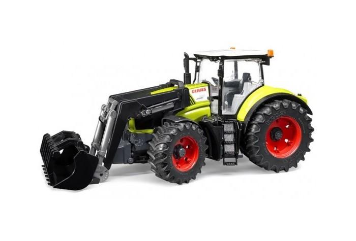 Машины Bruder Трактор Claas Axion 950 c погрузчиком 03-013 машинки tomy трактор john deere 6830 с двойными колесами и фронтальным погрузчиком