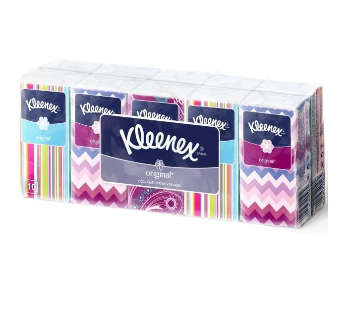 Салфетки Kleenex Салфетки Original 10 шт. салфетки kleenex салфетки в коробке design 70 шт