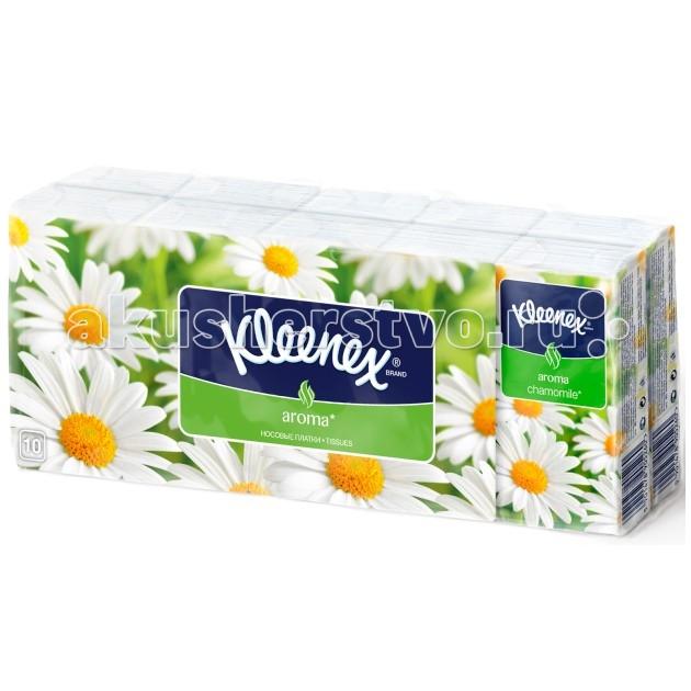 Салфетки Kleenex Носовые платочки Ромашка погремушка ромашка