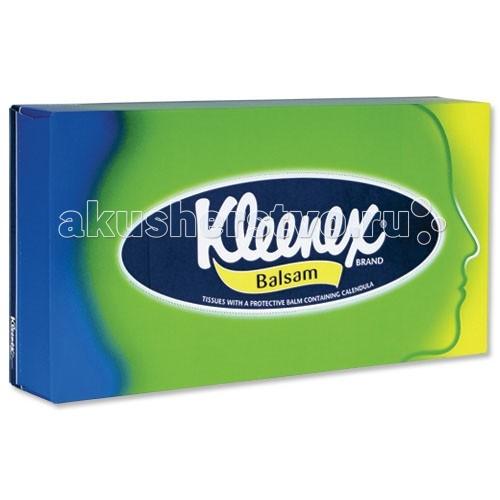Салфетки Kleenex Салфетки в коробке Balsam 80 шт. салфетки kleenex салфетки в коробке design 70 шт