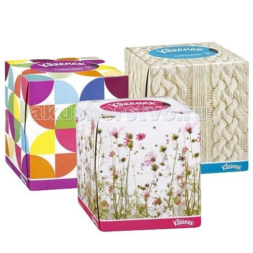 Салфетки Kleenex Салфетки в коробке Collection 100 шт. салфетки kleenex салфетки в коробке design 70 шт