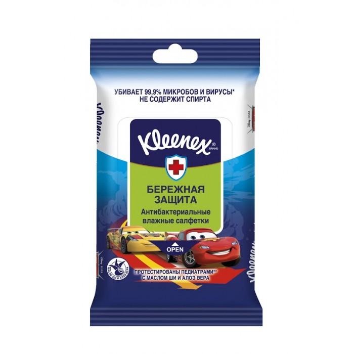Салфетки Kleenex Салфетки Антибактериальные Дисней 10 шт. формула контакта
