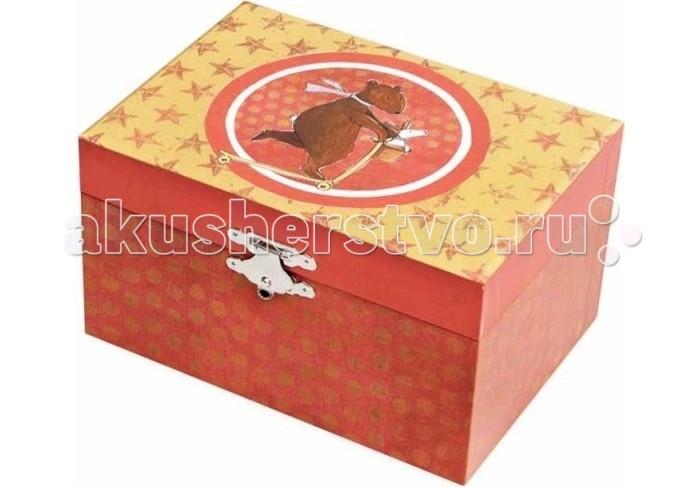 Детская мебель , Шкатулки Egmont Музыкальная шкатулка для украшений Медвежонок Макс арт: 463036 -  Шкатулки