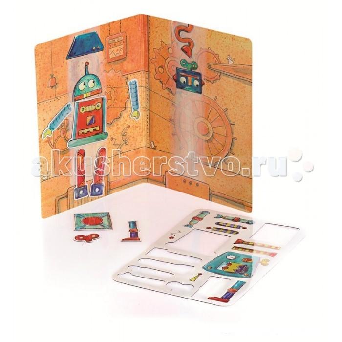 Настольные игры Egmont Магнитная игра Робот (18 деталей) эгмонт ночник мишка эрнест egmont