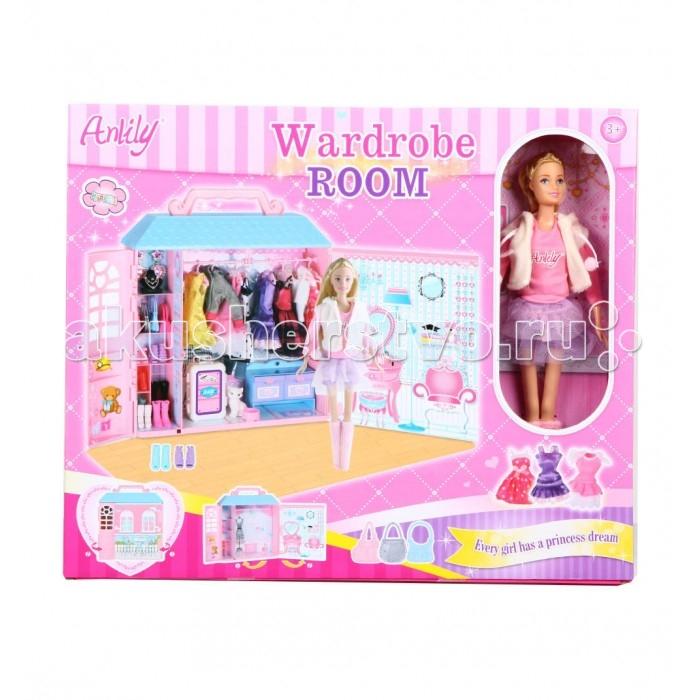 Куклы и одежда для кукол Игруша Набор Модница аксессуары для кукол модница одежда для сна для куклы 29 см халат кофточка и шортики