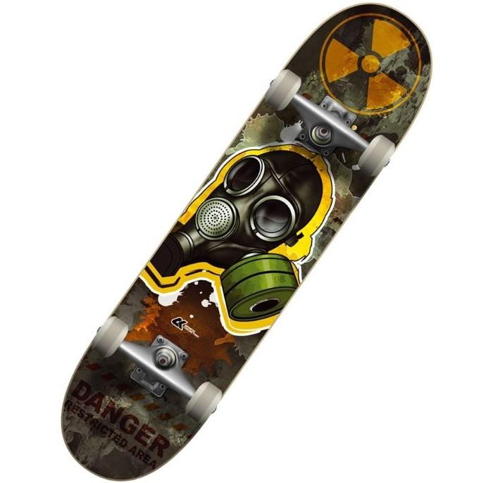 Детский транспорт , Скейтборды СК Спортивная коллекция Скейтборд SC Toxic арт: 463531 -  Скейтборды