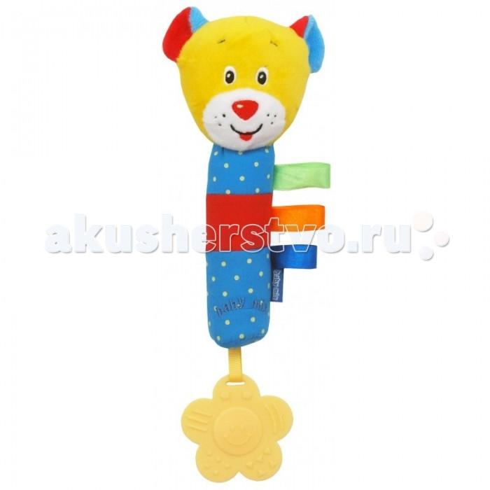 Погремушки Baby Mix Игрушка-пищалка Bear игрушка