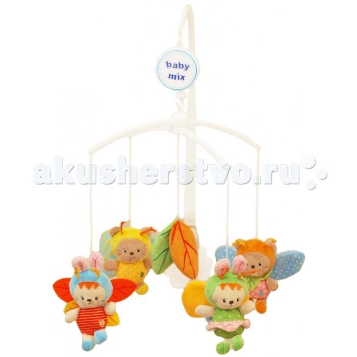 Мобили Baby Mix Музыкальная карусель  Happy Bees, Мобили - артикул:464546