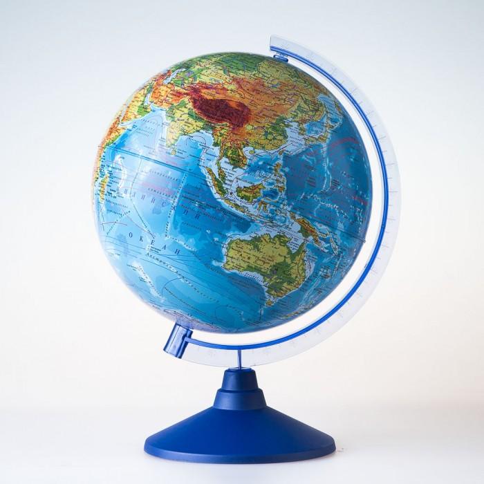 Глобусы Globen Глобус Физико-политический 25 см с подсветкой