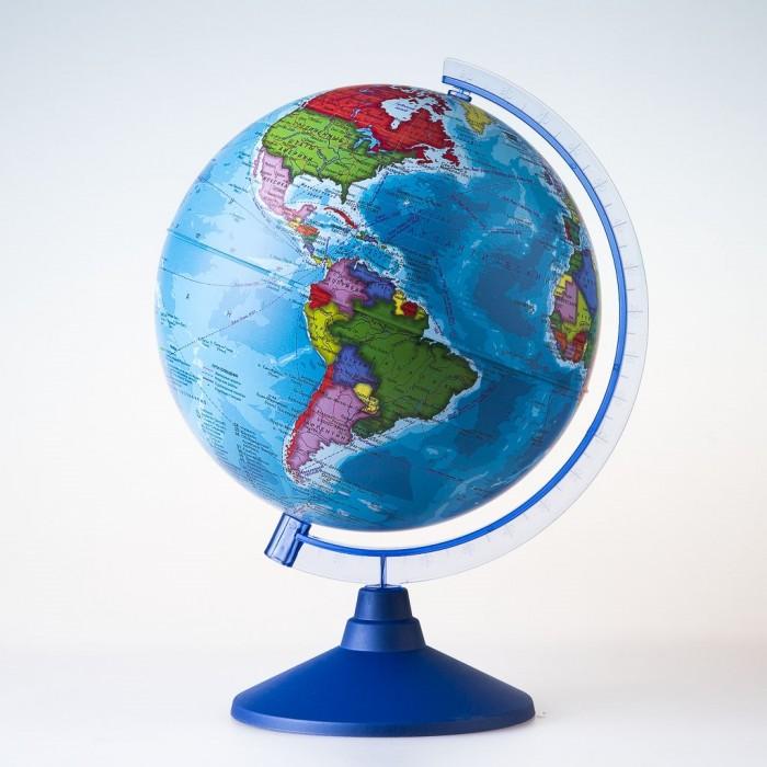 Глобусы Globen Глобус Политический детский 21 см с подсветкой