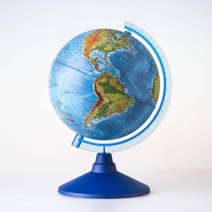 Глобусы Globen Глобус Физический 21 см с подсветкой