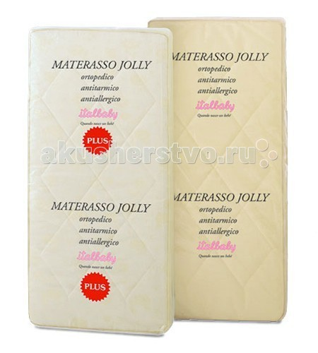 Матрас Italbaby Jolly plus 125х63, Матрасы - артикул:4648