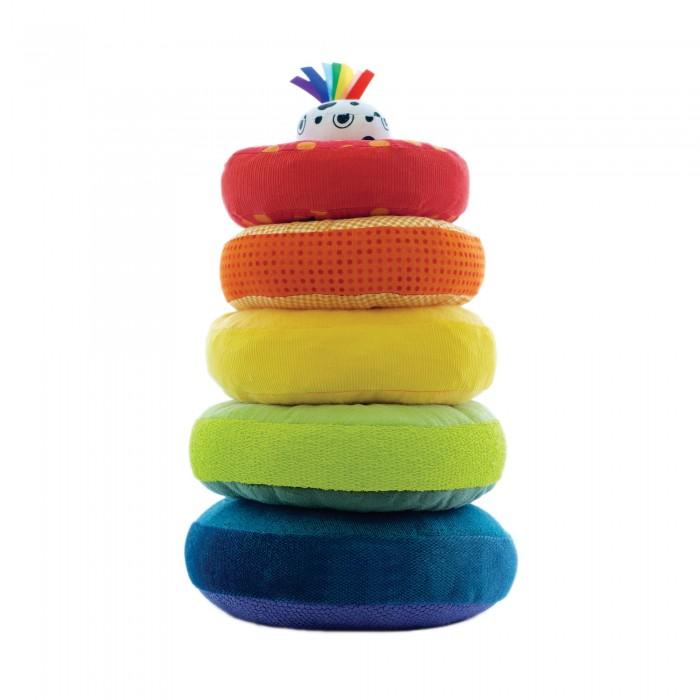Развивающие игрушки Cloud Factory Пирамидка Rainbow Summer, Развивающие игрушки - артикул:465396
