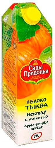 Соки и напитки Сады Придонья Сок яблоко тыква с 3 лет 1 л соки и напитки сады придонья сок яблочный прямого отжима с 3 лет 1 л