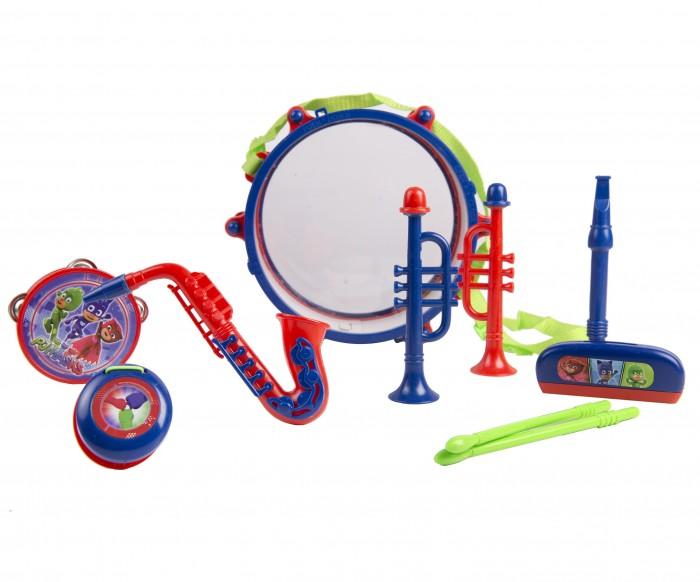 Музыкальные игрушки Герои в масках (PJ Masks) Набор музыкальных инструментов с барабаном набор инструментов квалитет нир 104